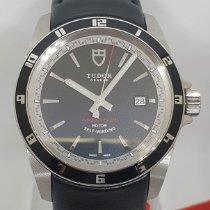Tudor Grantour Date Acero 42mm Negro