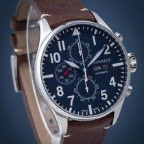 Aerowatch Les Grandes Classiques Steel 44mm Blue