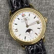 Blancpain Léman Moonphase Yellow gold 38mm White Roman numerals United States of America, New York, new york