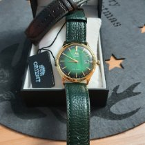 Orient Bambino Steel Green No numerals