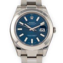 Rolex Steel Automatic Blue 41mm new Datejust II