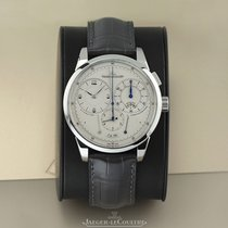 Jaeger-LeCoultre Platinum Manual winding Silver 42mm pre-owned Duomètre