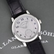 A. Lange & Söhne Platinum 40mm Manual winding 233.025 pre-owned United States of America, New York, Airmont