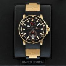 Ulysse Nardin Maxi Marine Diver Rose gold 42.7mm Black United States of America, New York, Airmont