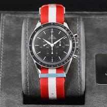 Omega Speedmaster Professional Moonwatch Steel 39.7mm Black United States of America, New York, Airmont