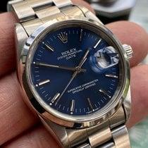 Rolex Oyster Perpetual Date Otel 34mm Albastru