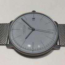 Junghans max bill MEGA Titanium 38mm Grey No numerals