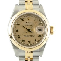 Rolex Oyster Perpetual Lady Date Gold/Steel 26mm Gold