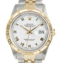 Rolex Datejust Turn-O-Graph Gold/Steel 36mm White