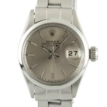 Rolex Oyster Perpetual Lady Date Steel 26mm Silver