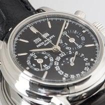 Patek Philippe Perpetual Calendar Chronograph Platinum 36mm Black