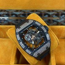 Richard Mille RM 055 Carbon 49.9mm Transparent No numerals