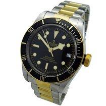 Tudor Black Bay S&G Acero y oro 41mm Negro