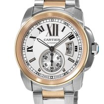 Cartier Calibre de Cartier Gold/Steel 42mm Silver United States of America, New York, NY