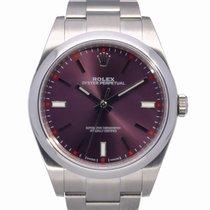 Rolex Oyster Perpetual 39 Steel 39mm Purple No numerals United Kingdom, Radlett