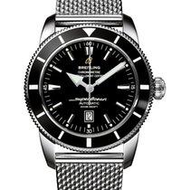 Breitling Superocean Heritage 46 Сталь 46mm Черный Без цифр