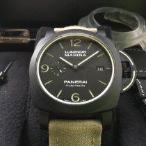 Panerai Carbon Automatic Black 44mm new Luminor Marina