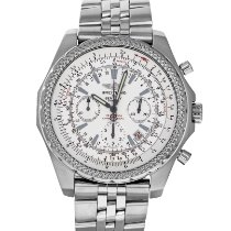Breitling Bentley Motors Steel 48mm Silver No numerals United States of America, Maryland, Baltimore, MD