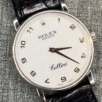 Rolex Cellini White gold 32mm Mother of pearl Arabic numerals United States of America, New York, new york