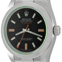Rolex 116400V Staal Milgauss 40mm tweedehands
