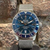 Breitling Superocean Heritage II 46 подержанные 46mm Синий Дата Сталь