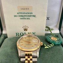 Rolex Datejust 16233 Good Gold/Steel 36mm Automatic