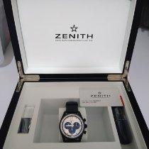 Zenith Aluminium Automatisch Zilver Geen cijfers 42mm tweedehands El Primero Chronomaster