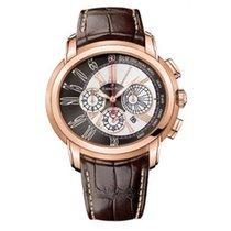 Audemars Piguet Millenary Chronograph Aur roz 47mm Negru Roman
