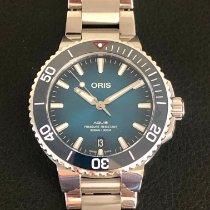 Oris Aquis Date Steel 39.5mm Blue No numerals United States of America, Virginia, Alexandria