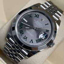 Rolex 126300 Acciaio 2021 Datejust 41mm nuovo Italia, Milano