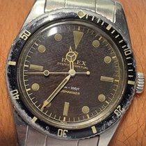 Rolex Submariner (No Date) Otel 37mm Maron Fara cifre