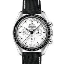 Omega Speedmaster Professional Moonwatch Ocel 42mm Bílá Bez čísel