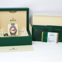 Rolex Oyster Perpetual Date Steel 34mm Pink Arabic numerals United States of America, Florida, Miami Beach