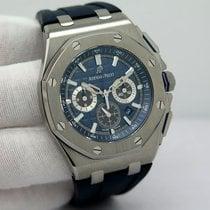 Audemars Piguet Titan Atomat Albastru Fara cifre 42mm folosit Royal Oak Chronograph
