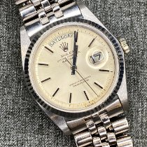 Rolex Day-Date 36 White gold 36mm Silver No numerals United States of America, New York, new york
