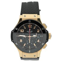 Hublot Red gold Automatic Black Arabic numerals 44mm pre-owned Big Bang 44 mm
