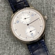 Patek Philippe Annual Calendar White gold 40.5mm Silver No numerals United States of America, New York, new york