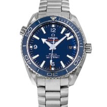 Omega Titanium Automatic Blue Arabic numerals 42mm pre-owned Seamaster Planet Ocean