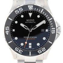 Mido Ocean Star Stal 43.5mm Czarny
