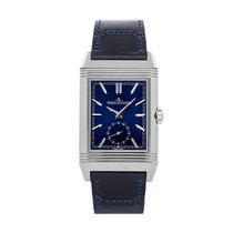 Jaeger-LeCoultre Reverso (submodel) Steel 47mm Blue No numerals United States of America, Pennsylvania, Bala Cynwyd