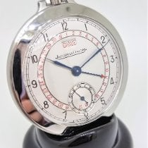 Jaeger-LeCoultre Watch pre-owned 1941 Steel 47mm Arabic numerals Manual winding Watch only