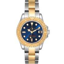 Rolex 169623 Goud/Staal 2003 Yacht-Master 29mm tweedehands