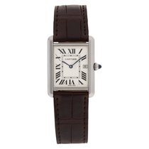 Cartier Tank Louis Cartier White gold 25.5mm Silver Roman numerals United States of America, Florida, Surfside