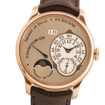 F.P.Journe Rose gold Automatic Silver Arabic numerals 38mm pre-owned Octa