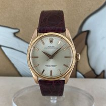 Rolex Rose gold Automatic 34mm pre-owned Oyster Perpetual 34