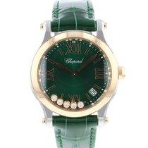 Chopard Happy Sport nieuw 2021 Quartz Horloge met originele doos en originele papieren 278582-6005