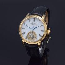 Glashütte Original Senator Meissen Tourbillon Rose gold 40mm Roman numerals