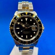 Rolex GMT-Master II 16713 Sehr gut Gold/Stahl 40mm Automatik