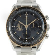 Omega Speedmaster Professional Moonwatch Gold/Steel 42mm Black