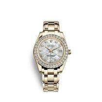 Rolex Datejust 31 Aur galben 34mm Sidef Fara cifre